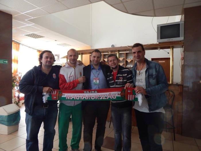 Magyar szurkolók is kiutaztak a négyes tornára