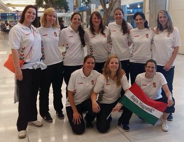 A magyar csapat